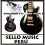Guitarra Electrica Les Paul Custom Pastillas Doradas. Nuevas
