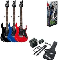 Ibanez Ijrg200 Guitarra Electrica Pack Amplificador Audifono
