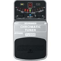 Behringer Tu300 Chromatic Tuner Afinador Guitarra Bajo