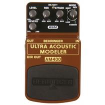 Ultra Acoustic Modeler Am400 Behringer Pedal Reverb Efecto