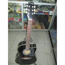 Guitarra Electroacustica Freeman California Venezia+funda+dv