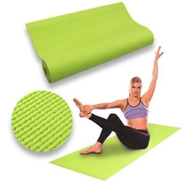 Colchoneta Yoga Mat Pilates Fitness Enrollable+bolso Maletin