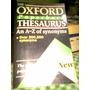 Diccionario Oxford De Sinonimos Ingles-ingles