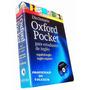 Diccionario Oxford Pocket Español-inglés, Inglés-español