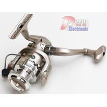 Carrete Caña De Pescar Sg3000 6 Rodajes Bobina Aluminio