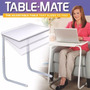Mesa Plegable Table Mate 4 Con Posavasos Delivery Gratis