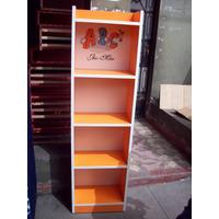 Librero De Melamina Con División Mediano (movilidad Gratis)