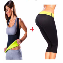 Hot Shapers Pantalon + Chaleco Thermo Reductor S,m,l,xl,xxl