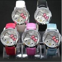 Reloj Pulsera Hello Kitty Original Y Exclusivo