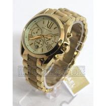 Reloj Michael Kors Mk5722 Dorado Elegante Para Dama
