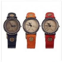 Reloj Pulsera Cuero Mod. Paris - Moda 2014