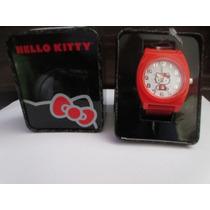 Hermoso Reloj Marca Hello Kitty Importado De U S A