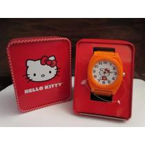 Lindo Reloj Marca Hello Kitty Importado