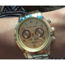 Reloj De Mujer Mk Michael Kors New York Edicion Limitada
