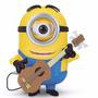 Minion Stuart Guitarrista