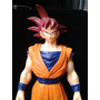 Dragon Ball Goku Sayayin Dios 37 Cm Banpresto Buen Estado