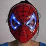 Mascara Spiderman Hombre Araña Led Halloween