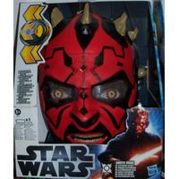 Máscara Star Wars Dark Vader,clone Trooper A 80 C.u Nueva