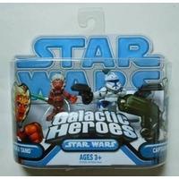 Star Wars Galactic Heroes Ahsoka Tano & Captain Rex