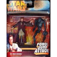 Star Wars Revenge Of The Sith Obi Wan Kenobi Force Jump