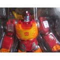 Hotrodimus Transformers Full Articulable + Accesorios + Caja
