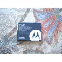 Pedido Bateria Motorola V8-v9 Modelo Bx-50 Original