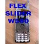 Flex+slider+menbrana Sony Ericsson W580 Solo Pedido