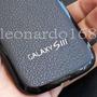 Case Tapa De Cuero Negro Para Samsung Galaxy Siii S3 I9300