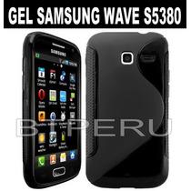 Funda Gel Para Samsung Wave Y S5380 Flexible Protector Tpu