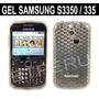 Funda Gel Para Samsung S3350 335 Chat Protector Skin