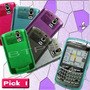 Funda Silicona Gel Case Blackberry Skin Tpu Bold Curve Pearl