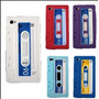 Protector De Silicona Para Iphone 5 Y 5s Retro Cassette.