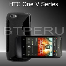 Funda Gel Case Para Htc One V Protector Tpu T320e