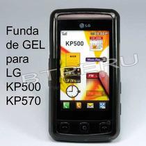 Funda Silicona Gel Lg Kp570 Cookie Protector Skin Cover