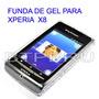 Funda Gel Silicona Sony Ericsson X8 Xperia Tpu Protector