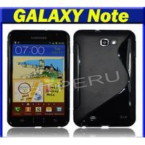 Funda Gel Galaxy Note N7000 Protector Silicona Case I9220
