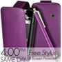 Estuche Funda Samsung Galaxy Ace S5830+stylus+ Film Morado