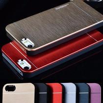 Estuche Case Iphone 4 5 6 6 Plus Aluminio + Mica + Stylus