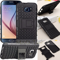 Case Armor Stand Samsung Galaxy S6 + Mica Mate