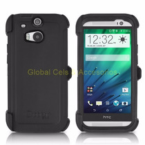 Otterbox Defender Htc One M8 Protector Extremo Gancho Correa
