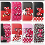 Moto X 1058: Case Cover Funda Billetera Diseño Mickey-minnie