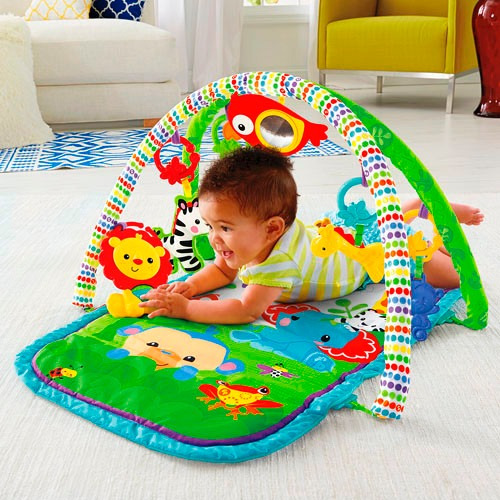 Gimnasio 3en1 Musical Rainforest De Fisher Price Bebe