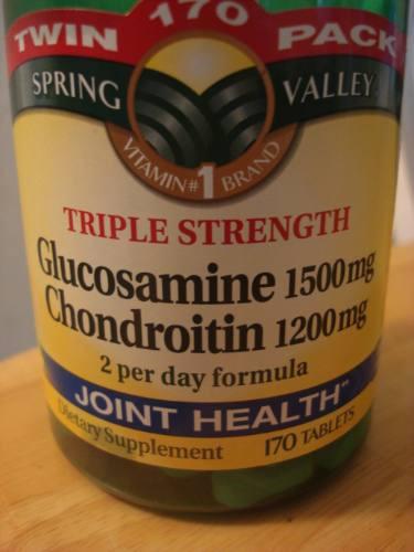 Glucosamine 1500mg Chondroitin 1200mg Usa - 170 Capsulas