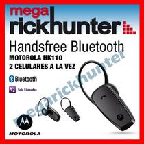 Handsfree Bluetooth Motorola Hk110, 2 Celulares A La Vez