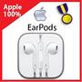 Audifonos Earpods Apple 100% Originales Iphone 5 5s 5c Ipad