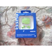 Bluetooth Nokia Original En Caja Bh 111 Verde Limon Stock