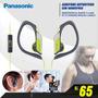 Audifono Panasonic Con Micro Deportivos,modelo 2015 Original