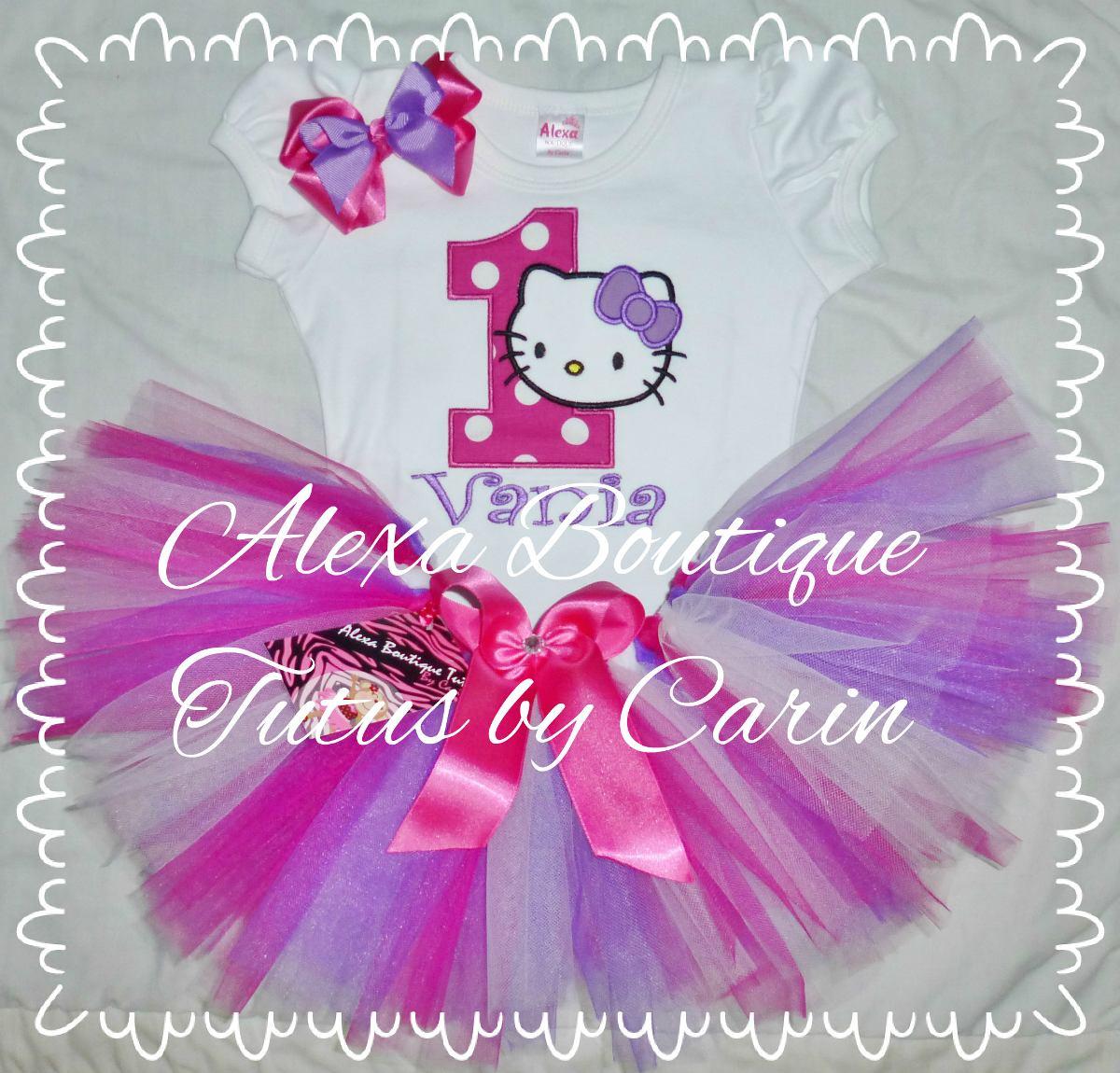 Hello kitty tutu vestido de ni a para fiesta cumplea os - Fiesta de cumpleanos para nina ...