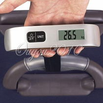 Balanza Digital Portatil Lcd Para Equipaje Hasta 50kg.