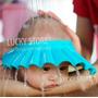 Gorro Bañar Bebes Protector De Ojos Baño Original No Toxico